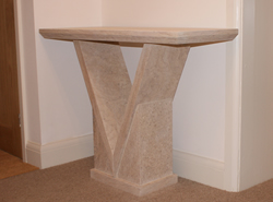 S  Stone Hall Table